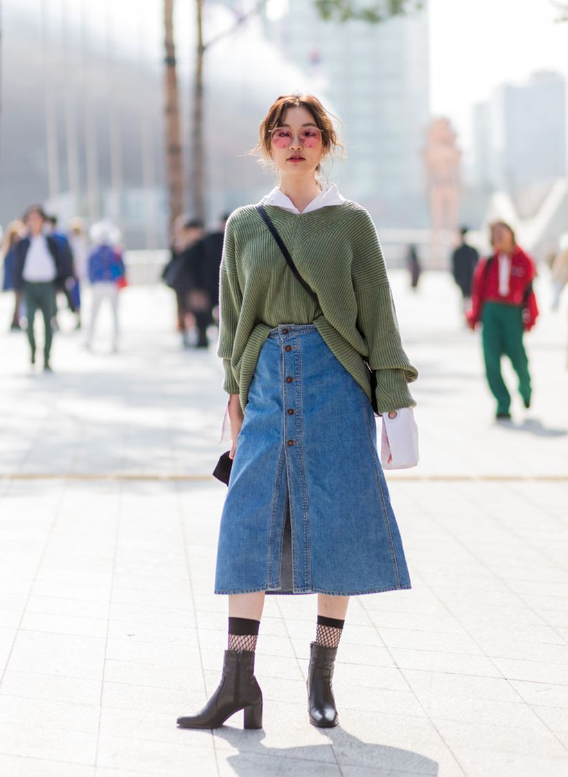 Inspiring simple casual street style outfits ideas 50