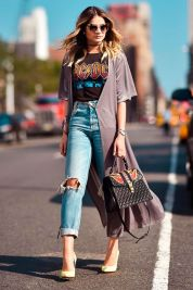Inspiring simple casual street style outfits ideas 95