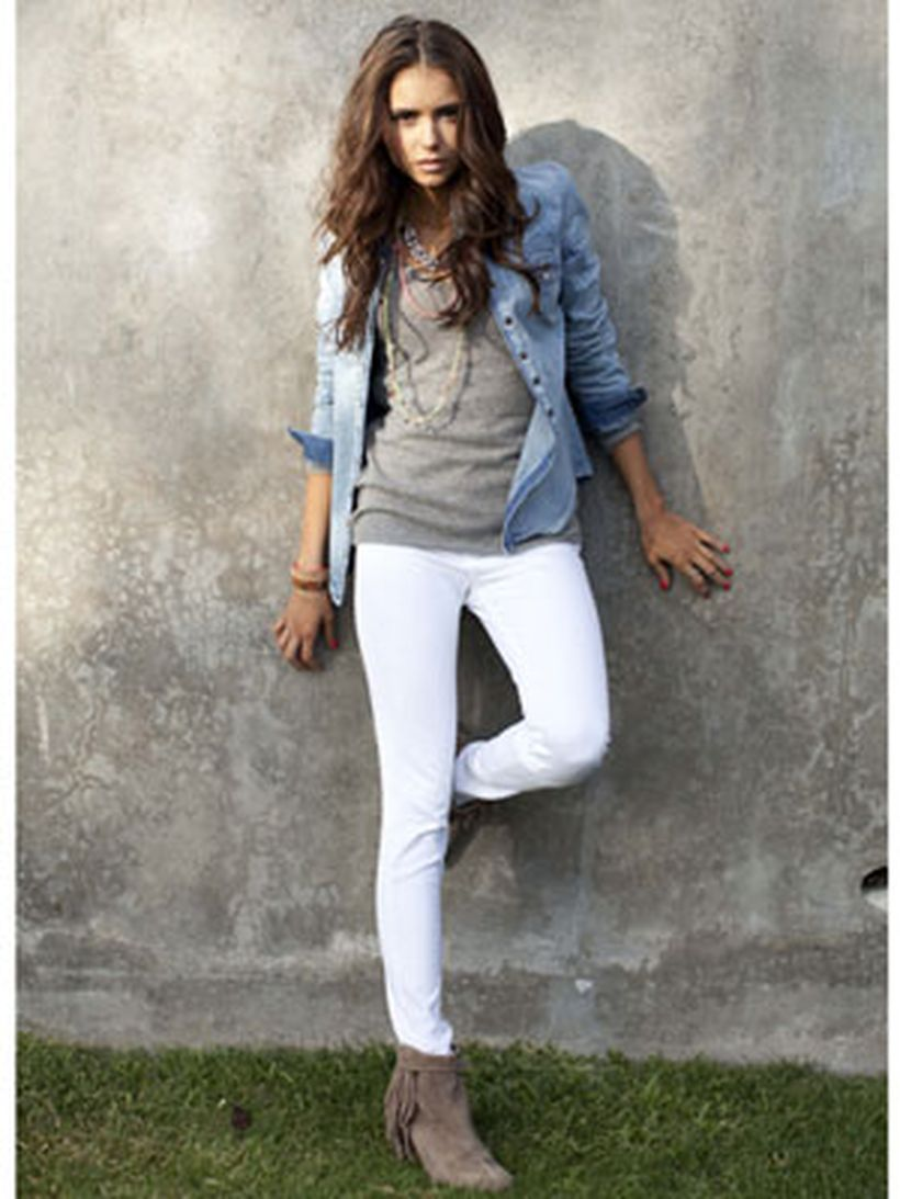 Perfect ways to wear white denim jeans outfits 89