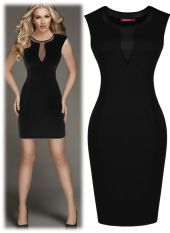 Stunning black short dresses outfits for party ideas 12