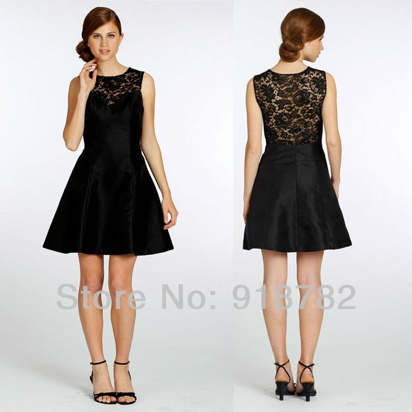 Stunning black short dresses outfits for party ideas 19