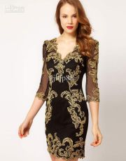 Stunning black short dresses outfits for party ideas 65