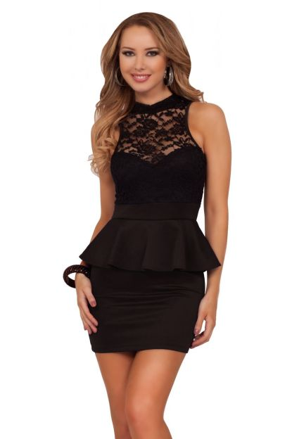 Stunning black short dresses outfits for party ideas 80