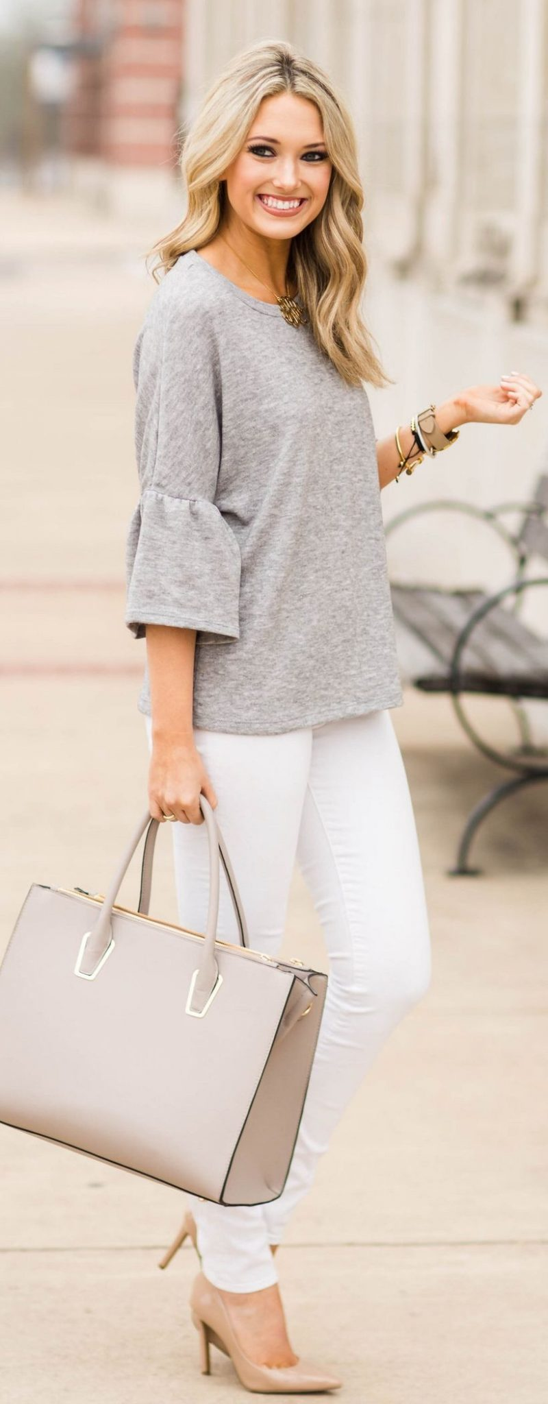 Stylish leather tote bags for work 100