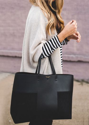 Stylish leather tote bags for work 103