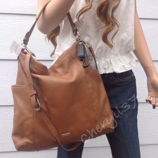 Stylish leather tote bags for work 11