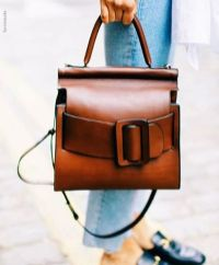 Stylish leather tote bags for work 60