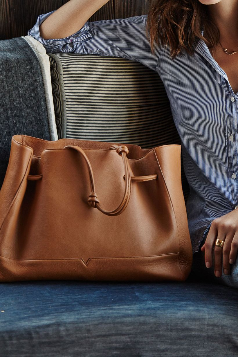 Stylish leather tote bags for work 75