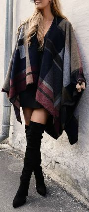 Trendy over the knee boots for winter and fall outfits 16