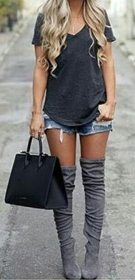 Trendy over the knee boots for winter and fall outfits 39