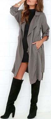 Trendy over the knee boots for winter and fall outfits 47