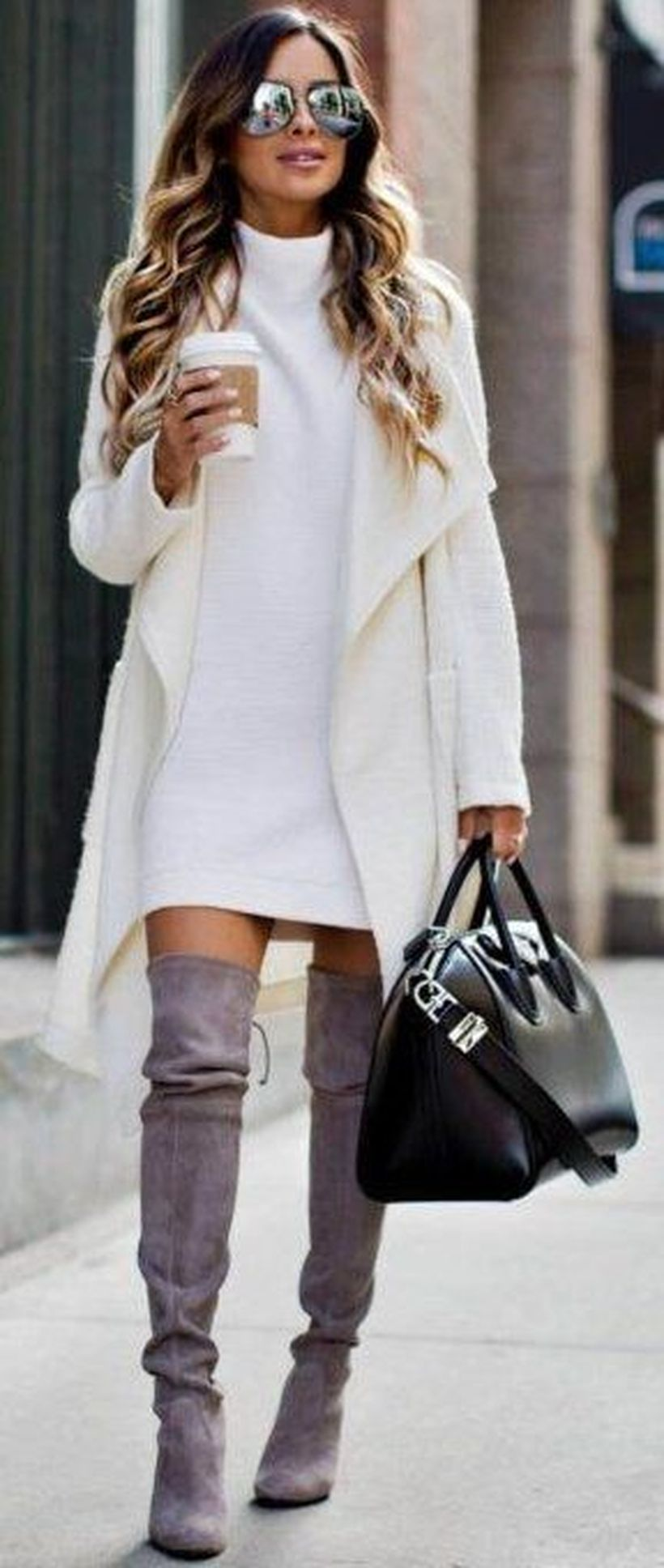 Trendy over the knee boots for winter and fall outfits 5
