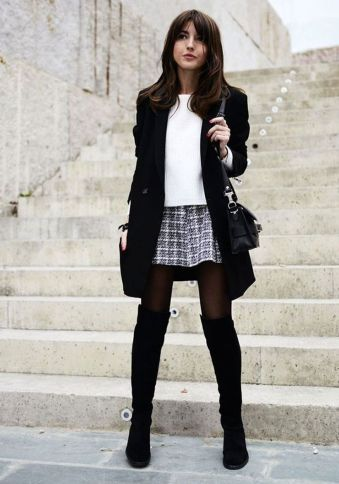 Trendy over the knee boots for winter and fall outfits 7