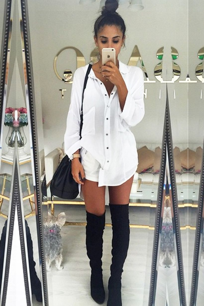Trendy over the knee boots for winter and fall outfits 78