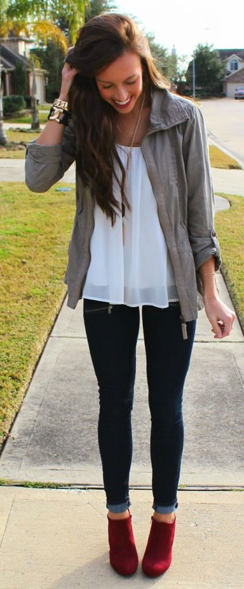 Best casual fall night outfits ideas for going out 62