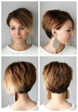 Cool short pixie ombre hairstyle ideas 18