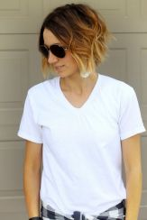 Cool short pixie ombre hairstyle ideas 35