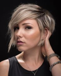 Cool short pixie ombre hairstyle ideas 37