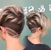 Cool short pixie ombre hairstyle ideas 5
