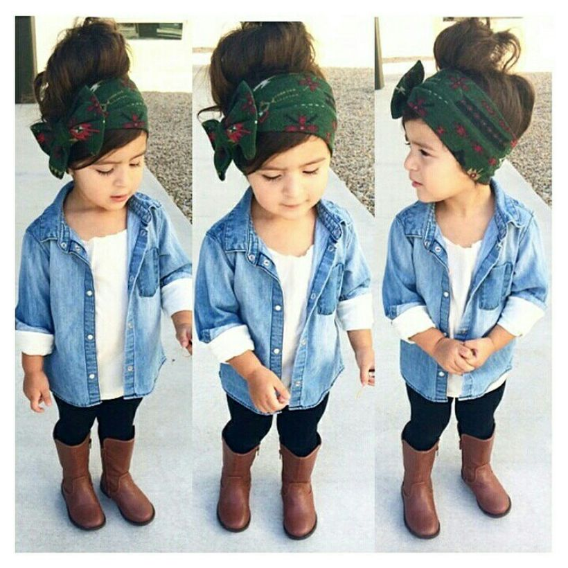 Cute fall outfits ideas for toddler girls 1