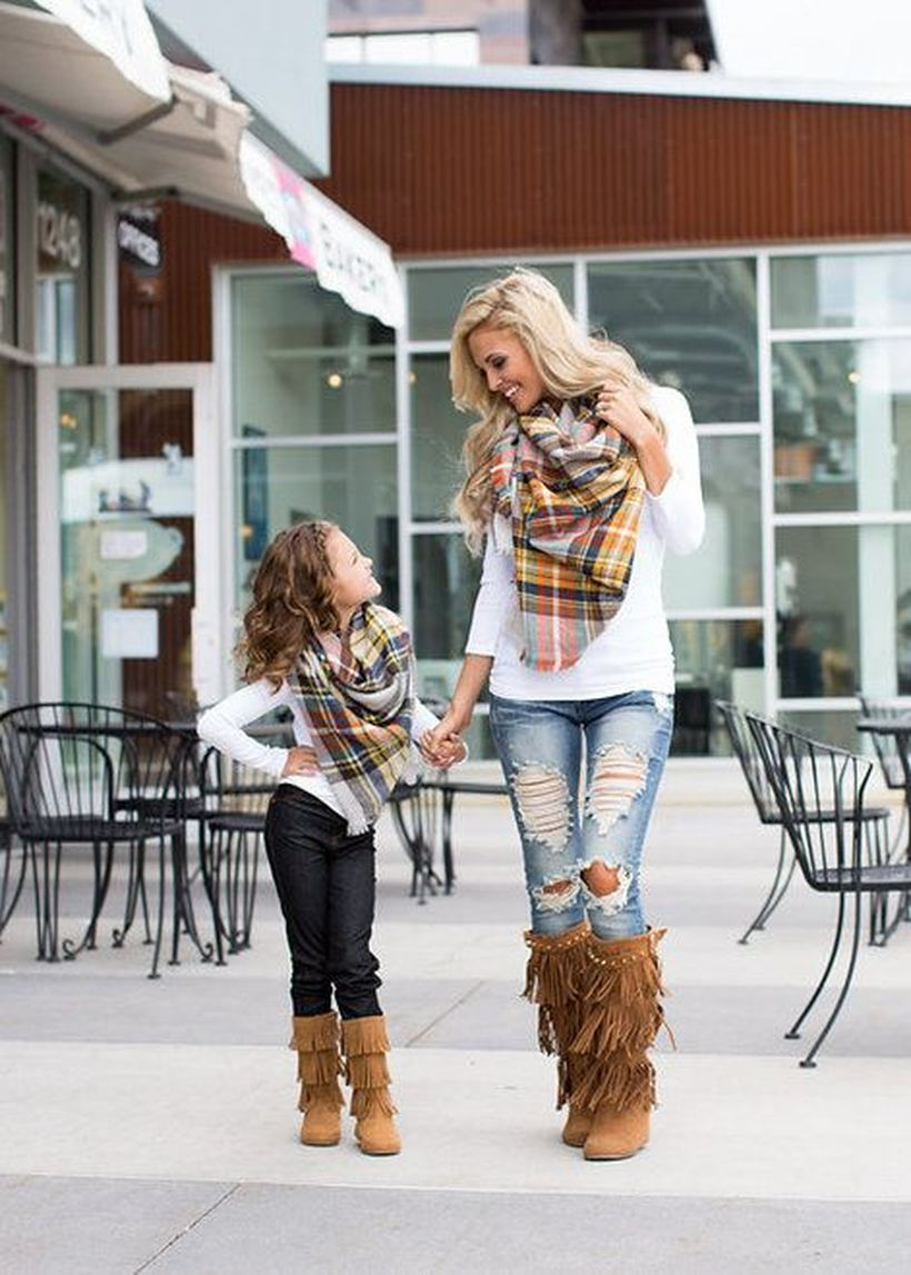 Cute fall outfits ideas for toddler girls 19