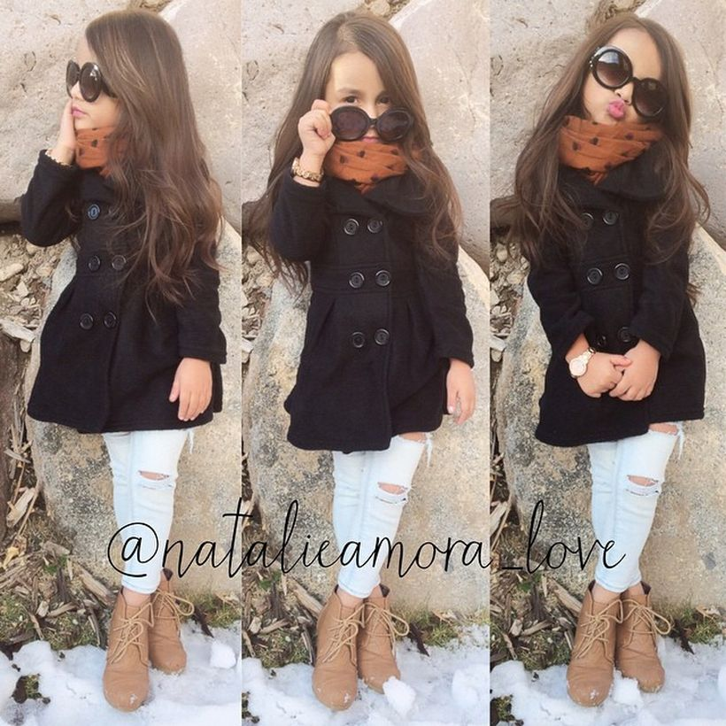 Cute fall outfits ideas for toddler girls 28