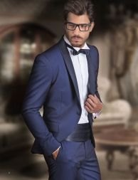 Elegant men's formal wear with tuxedo and suits 1