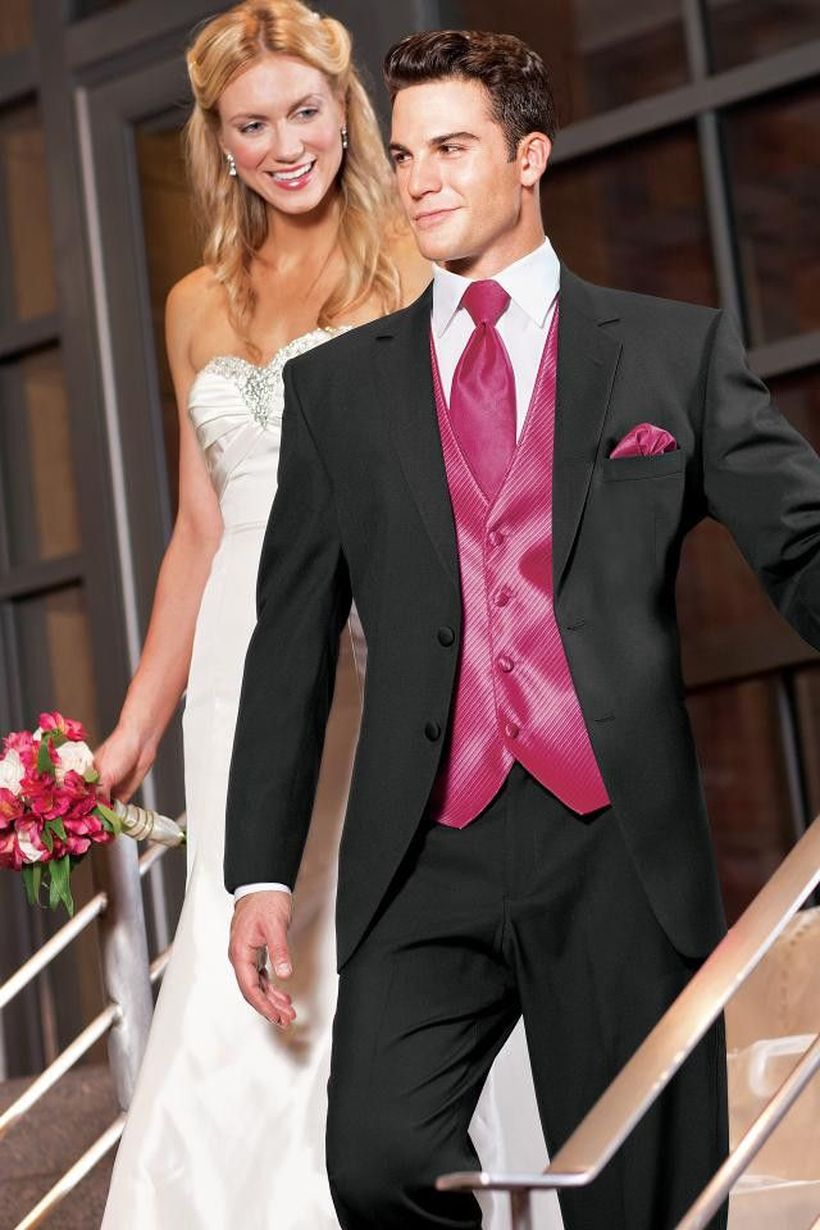 Elegant men's formal wear with tuxedo and suits 113