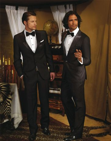 Elegant men's formal wear with tuxedo and suits 117