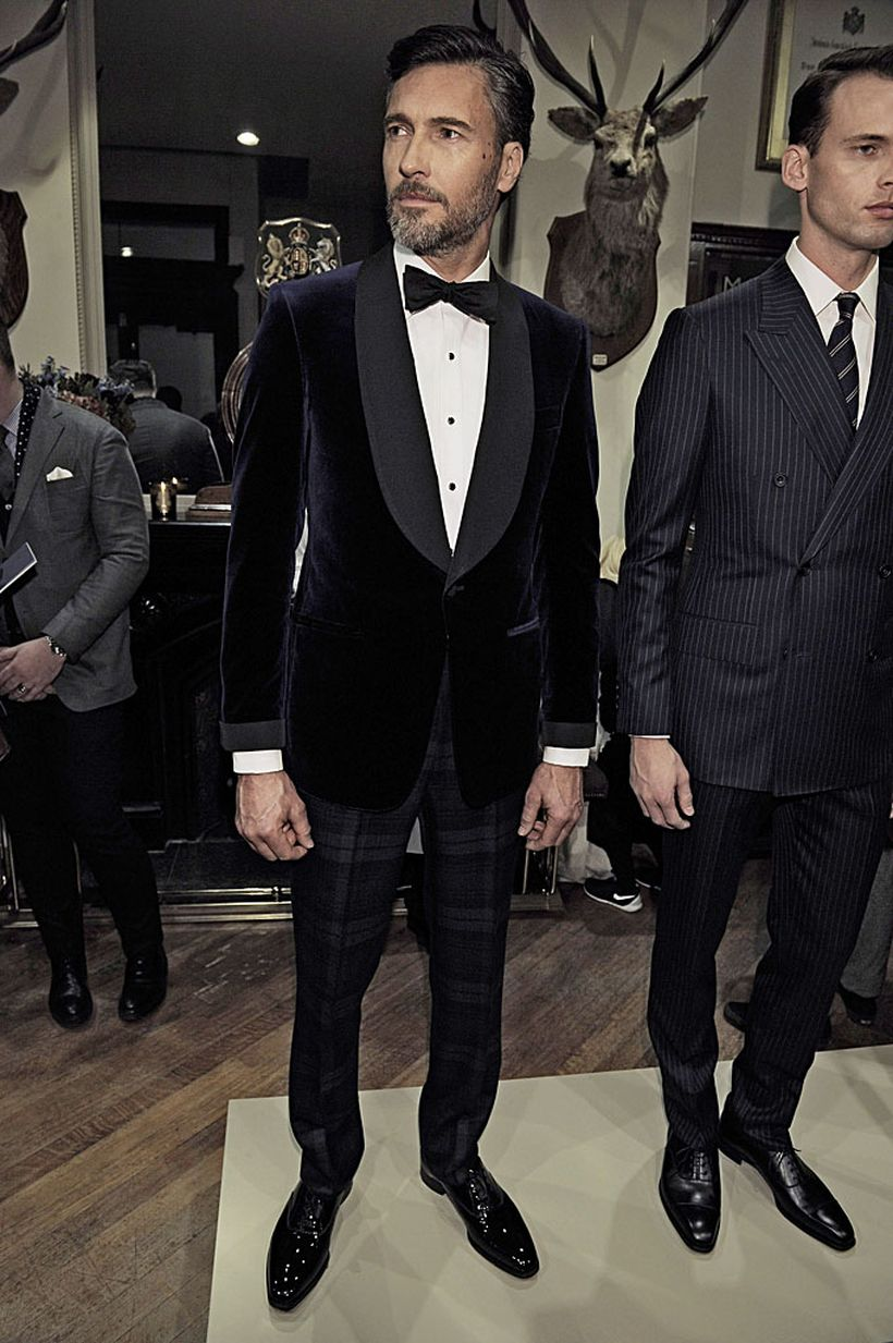 Elegant men's formal wear with tuxedo and suits 119