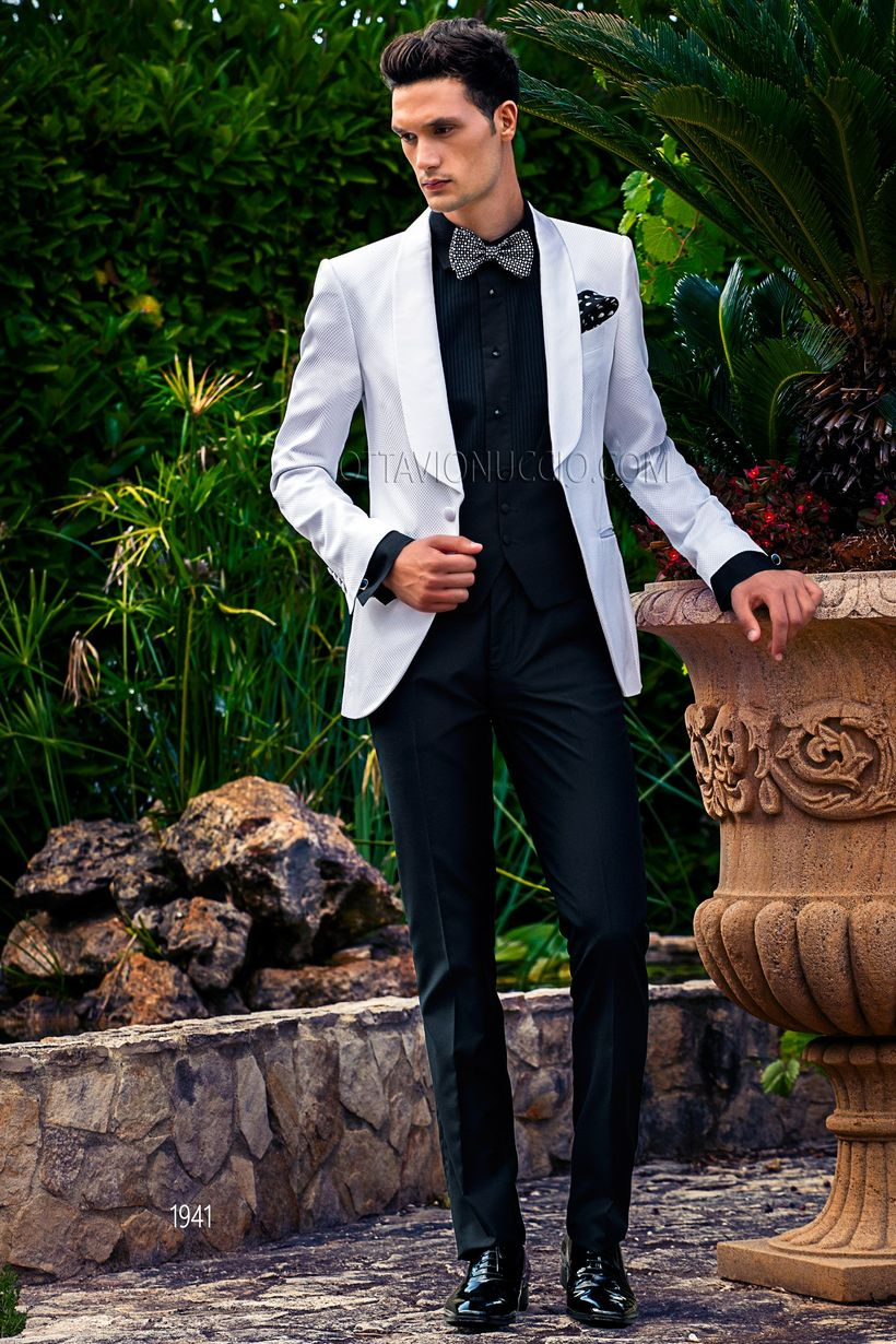 Elegant men's formal wear with tuxedo and suits 127