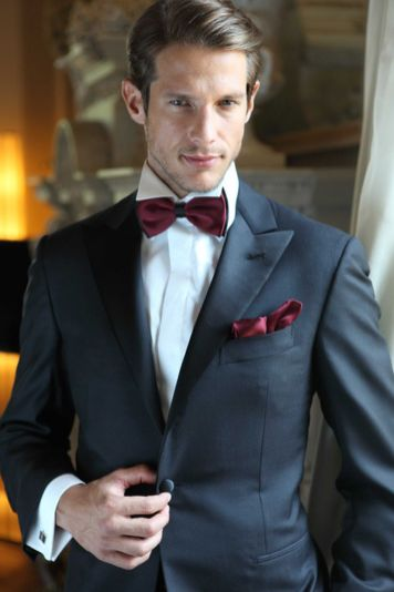 Elegant men's formal wear with tuxedo and suits 13