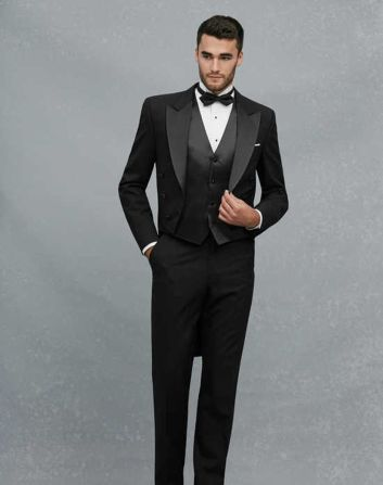 Elegant men's formal wear with tuxedo and suits 130