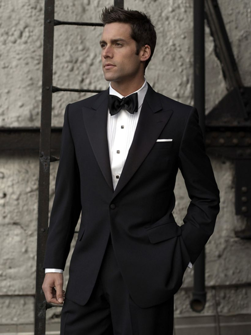 Elegant men's formal wear with tuxedo and suits 136