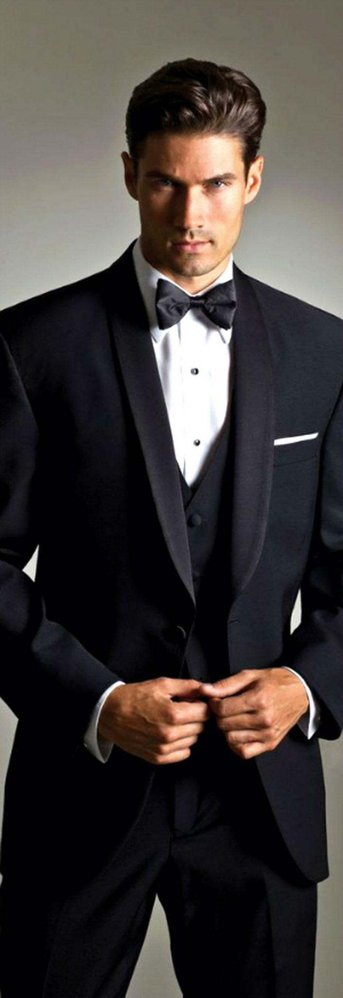 Elegant men's formal wear with tuxedo and suits 14