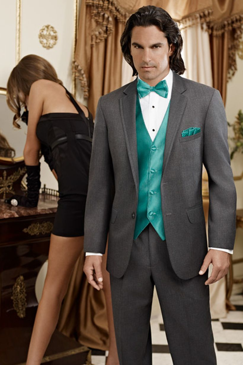 Elegant men's formal wear with tuxedo and suits 140