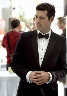 Elegant men's formal wear with tuxedo and suits 17