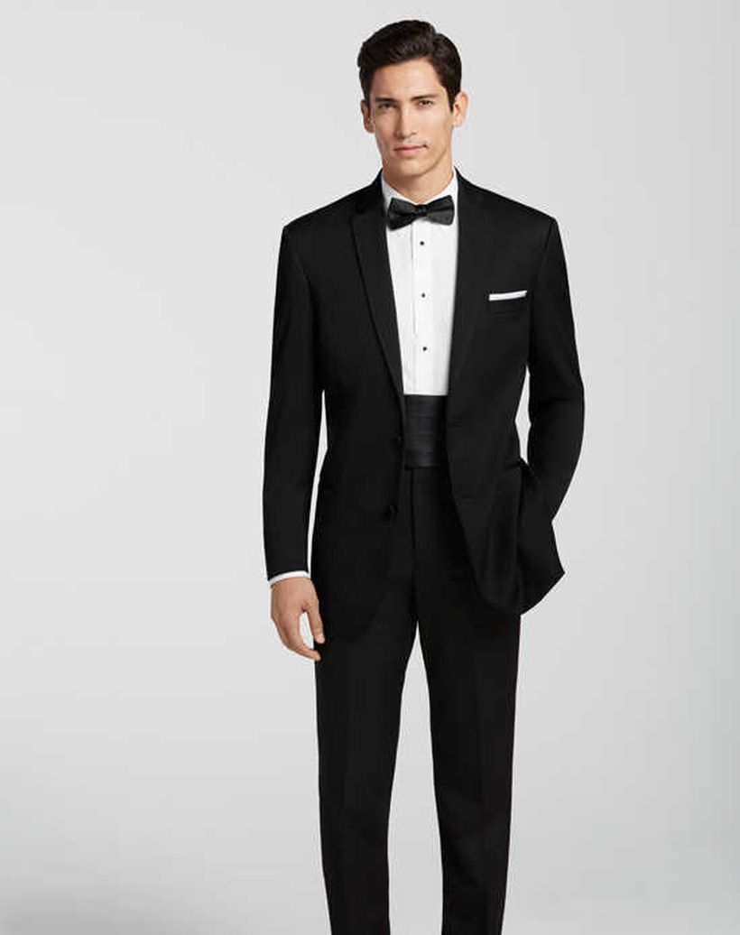 Elegant men's formal wear with tuxedo and suits 33