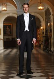 Elegant men's formal wear with tuxedo and suits 4
