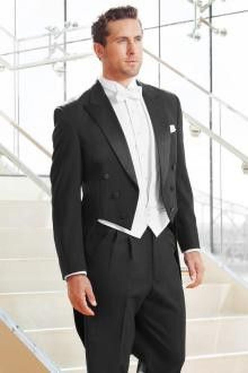 Elegant men's formal wear with tuxedo and suits 43