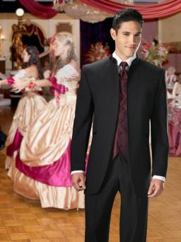 Elegant men's formal wear with tuxedo and suits 45
