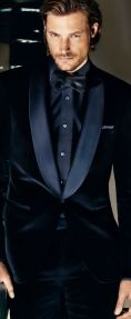 Elegant men's formal wear with tuxedo and suits 47