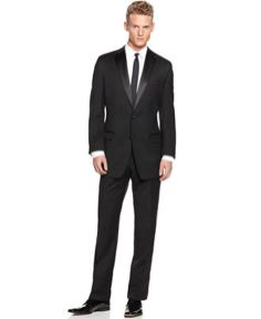 Elegant men's formal wear with tuxedo and suits 5