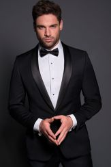 Elegant men's formal wear with tuxedo and suits 54