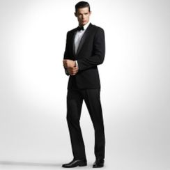 Elegant men's formal wear with tuxedo and suits 56