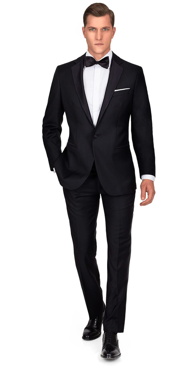 Elegant men's formal wear with tuxedo and suits 65