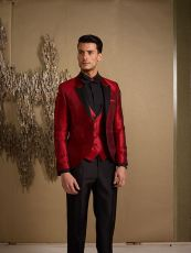 Elegant men's formal wear with tuxedo and suits 66