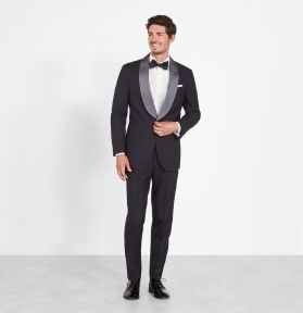 Elegant men's formal wear with tuxedo and suits 7