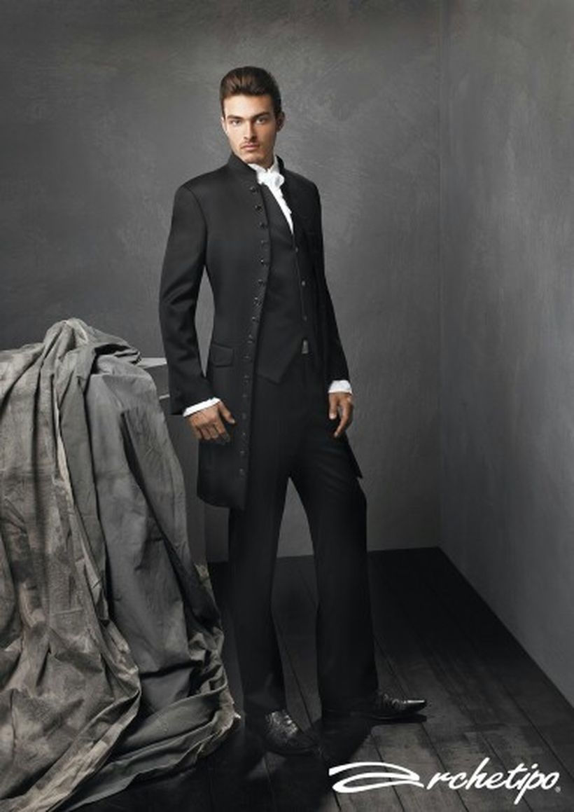 Elegant men's formal wear with tuxedo and suits 76