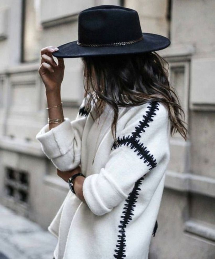 Fashionable outfit style for winter 2017 20